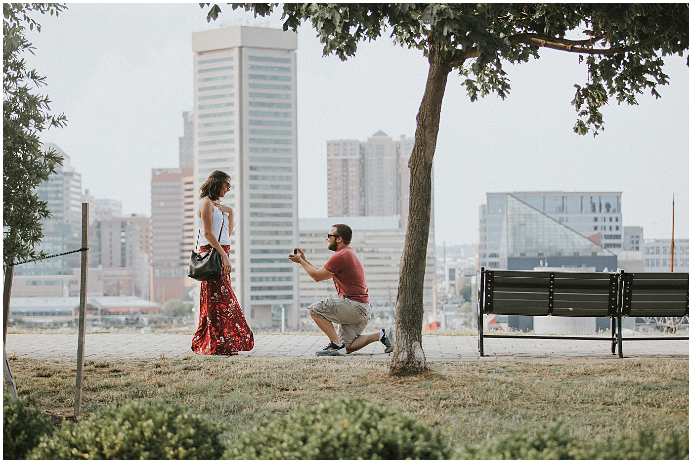 2016-07-24_0003 Our Best Friends' Scenic Proposal at Federal Hill | Haleigh + Mike