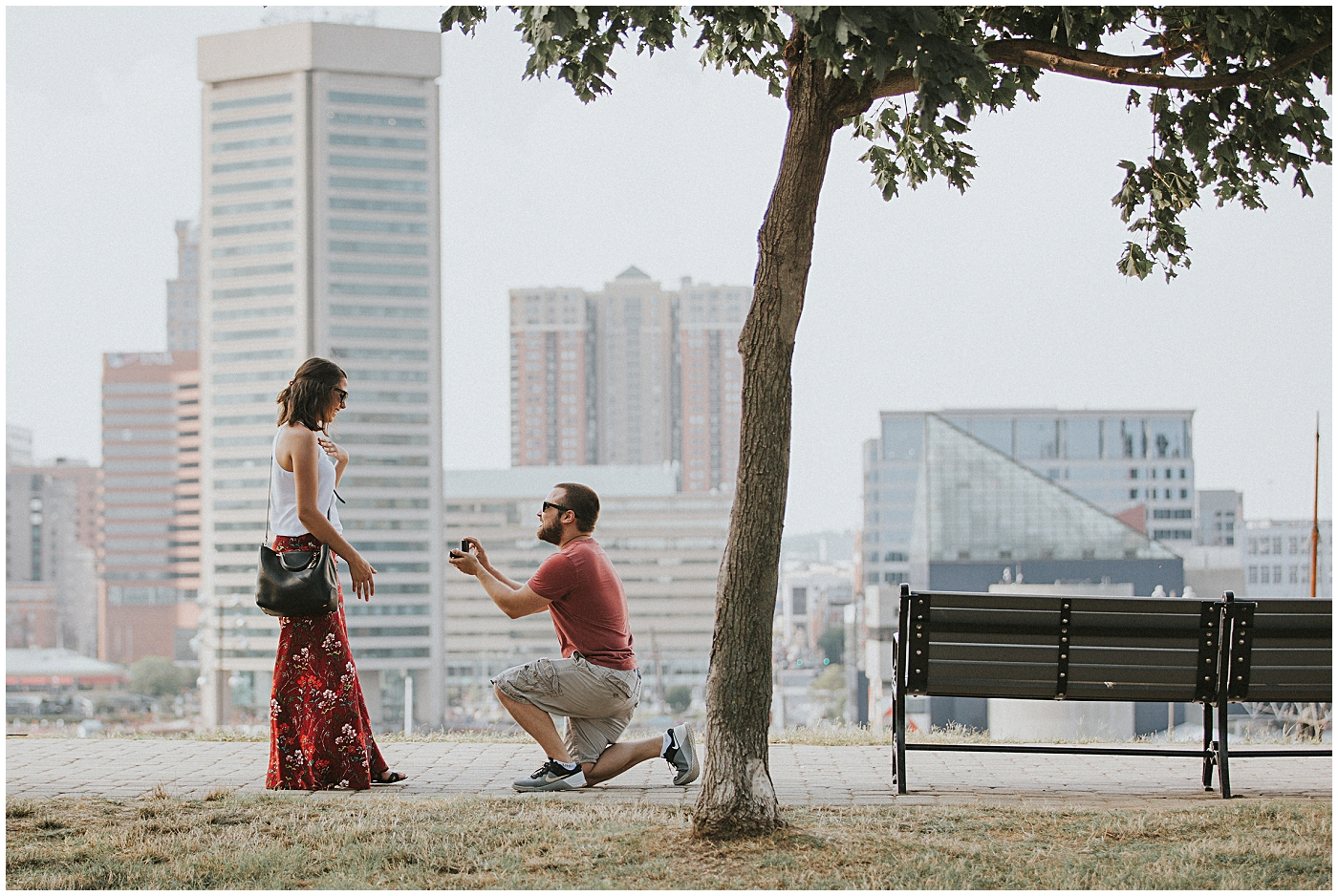 2016-07-24_0004 Our Best Friends' Scenic Proposal at Federal Hill | Haleigh + Mike
