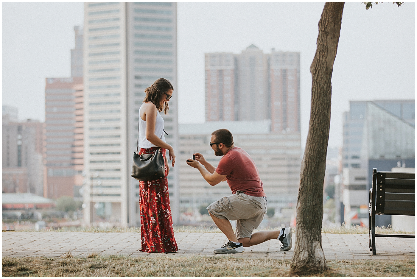 2016-07-24_0005 Our Best Friends' Scenic Proposal at Federal Hill | Haleigh + Mike