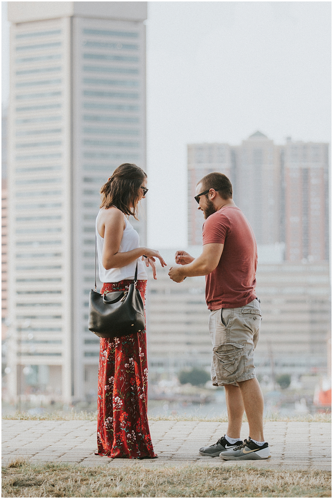 2016-07-24_0007 Our Best Friends' Scenic Proposal at Federal Hill | Haleigh + Mike