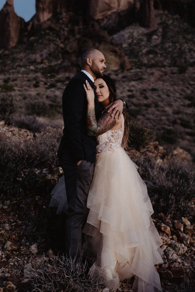 caitlin-and-matthew-arizona-335-683x1024 Caitlin + Matthew's Arizona Desert Elopement in the Superstition Mountains