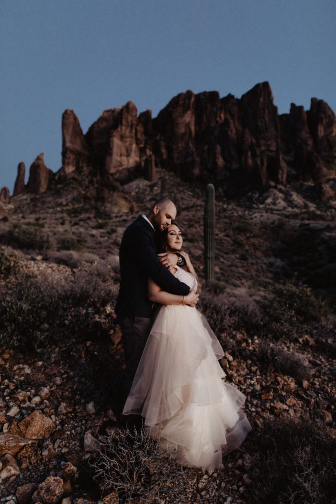 caitlin-and-matthew-arizona-344-683x1024 Caitlin + Matthew's Arizona Desert Elopement in the Superstition Mountains