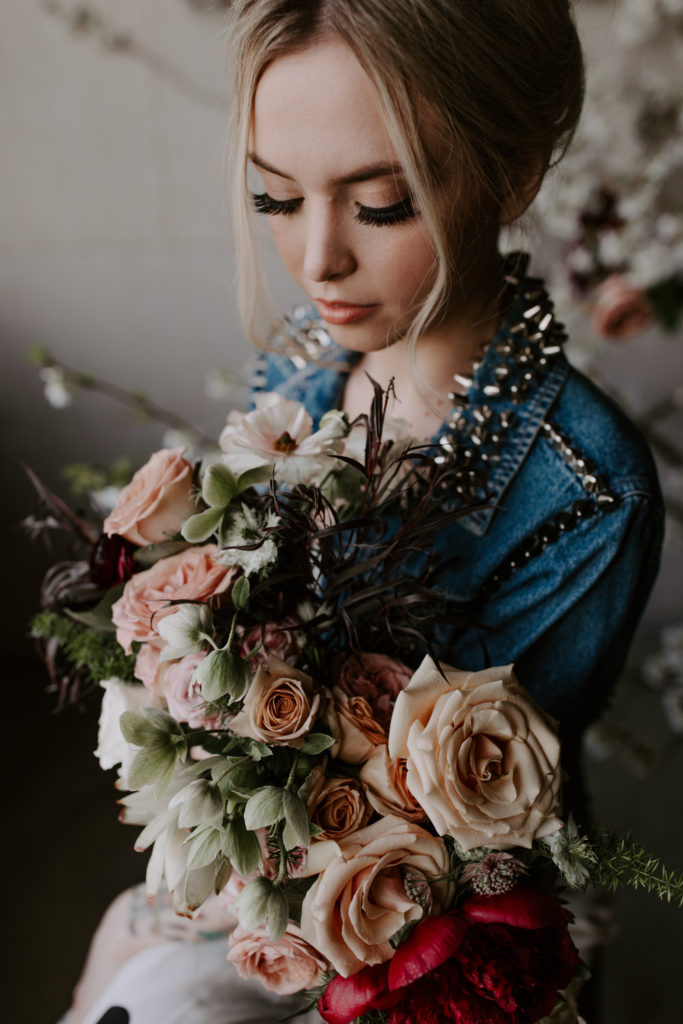 CityCelebrations-105-683x1024 Edgy Vintage Bride Styled Shoot